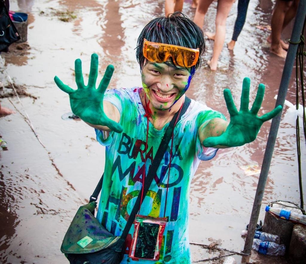 【インド人の】タイでHoli Festival(ホーリー祭)に参加してもみくちゃにされた話【バイタリティー半端ない】